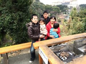 入田浜山荘 集合写真