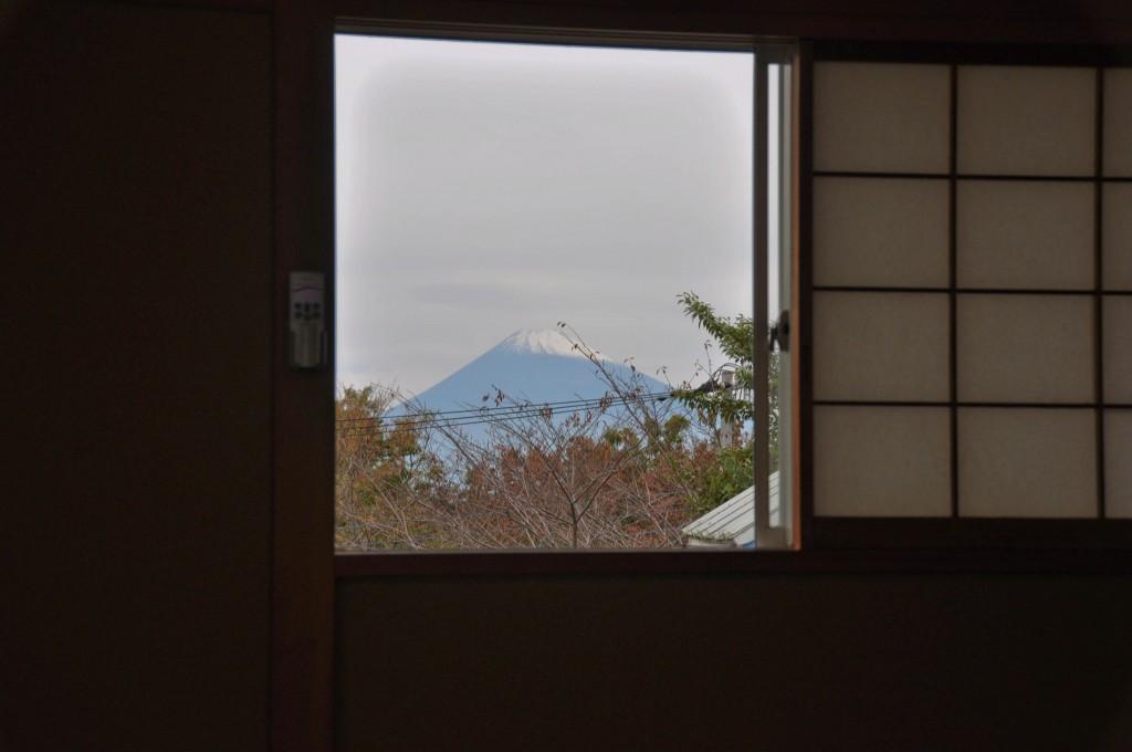修善寺フォーレストより富士山の眺め