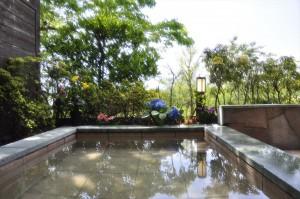 修善寺フォーレストの一戸建て棟・露天風呂