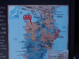 達磨山レストハウスの地図