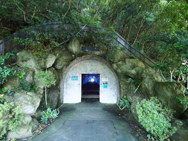淡島のトンネル