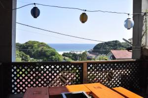 入田浜山荘 海の見えるBBQ施設