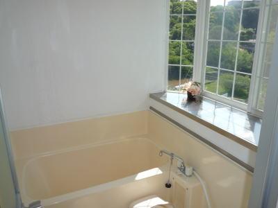コテージ内のお風呂