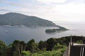 出会い岬からの眺め
