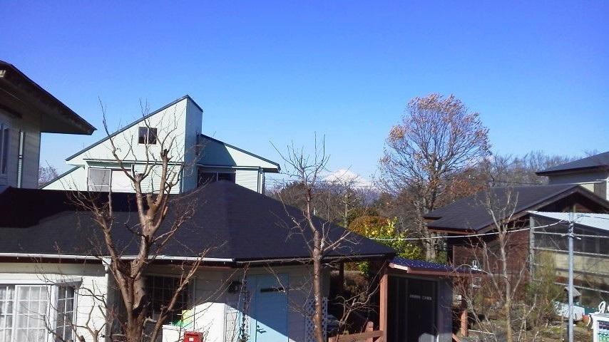 修善寺フォーレストより富士山の景色