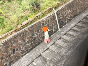 入田浜山荘 階段