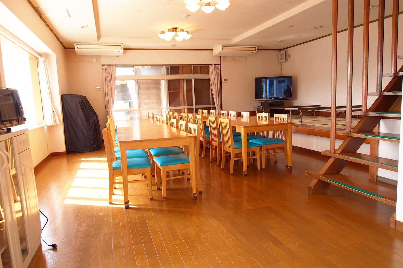 入田浜 大型棟のリビング