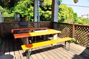 入田浜山荘 10名 BBQ