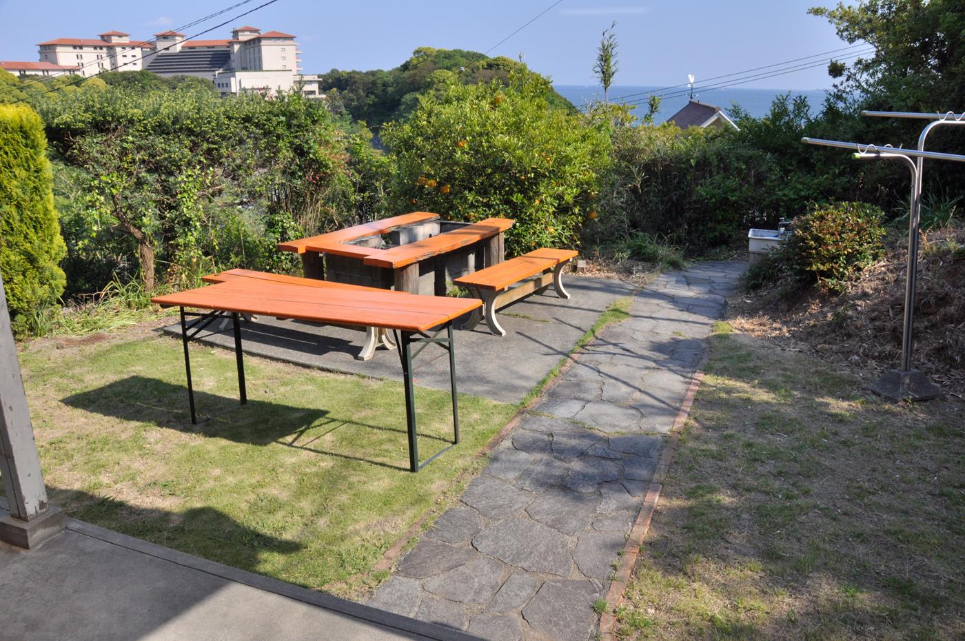 入田浜の海辺にあるコテージ 15名までの大人数で泊まれる3LDKタイプのお部屋