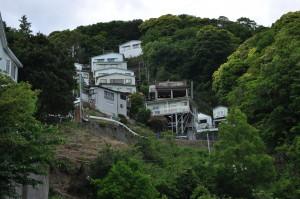 入田浜山荘 敷地全体