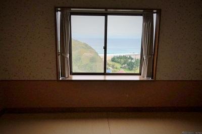 入田浜山荘 3号棟 和室からの眺め