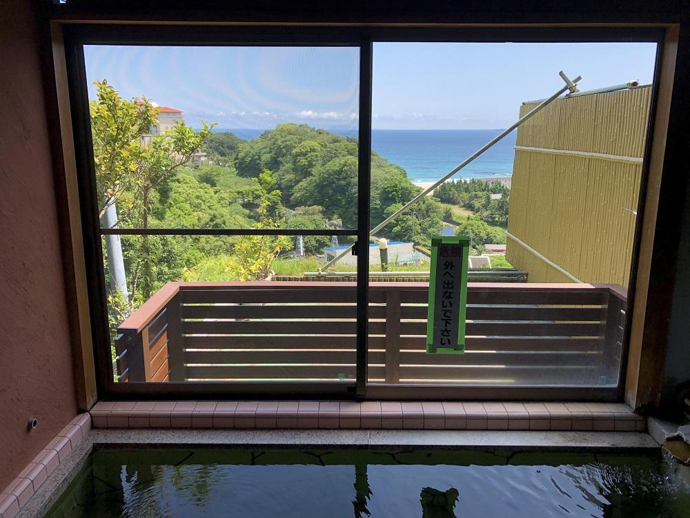 下田の絶景露天風呂といえばここ!入田浜山荘