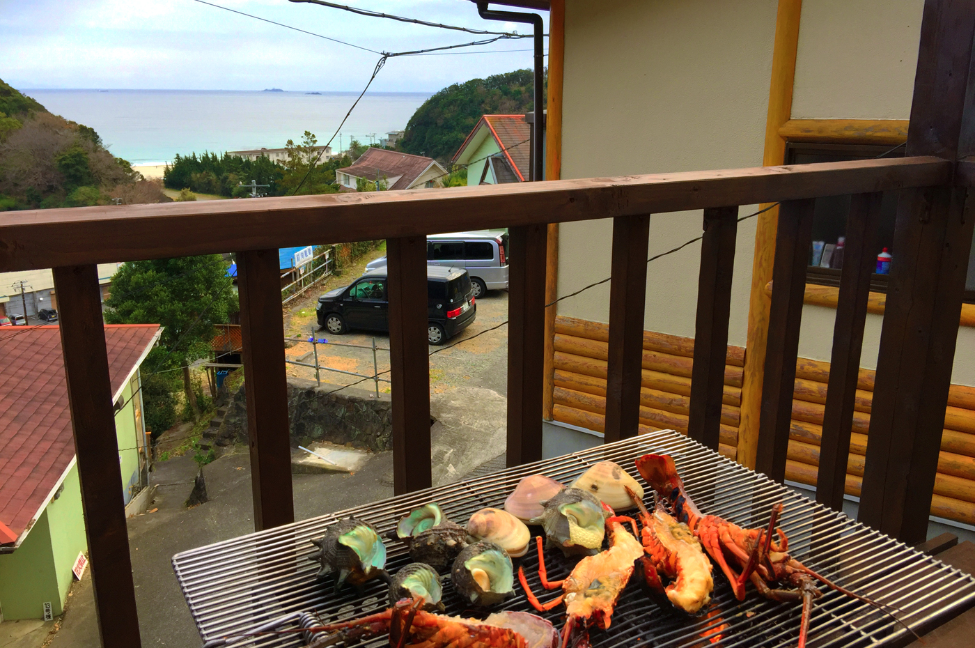 入田浜山荘 BBQ