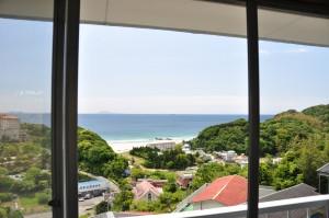 入田浜山荘 部屋からの景色