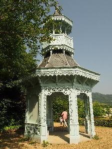 河津バガテル公園、「キオスク」