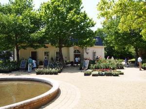 河津バガテル公園、バラ販売所