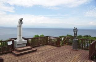 恋人岬展望台からの海の景色
