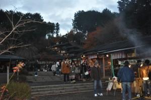 修善寺虹の郷 ライトアップ