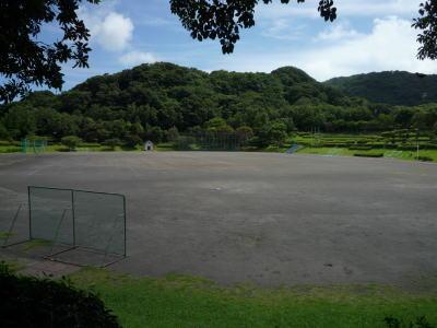 伊豆コテージから近いグラウンド