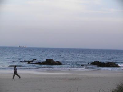 伊豆コテージから近い入田浜海水浴場