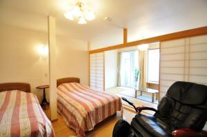 修善寺フォーレスト 2-5名 寝室