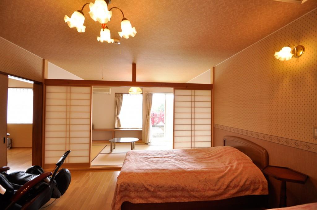修善寺フォーレスト2-5名 露天風呂 寝室