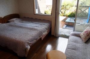 修善寺フォーレスト 露天付き2名 寝室