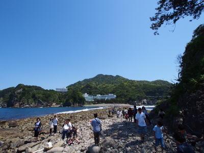 三四郎島から見た伊豆半島