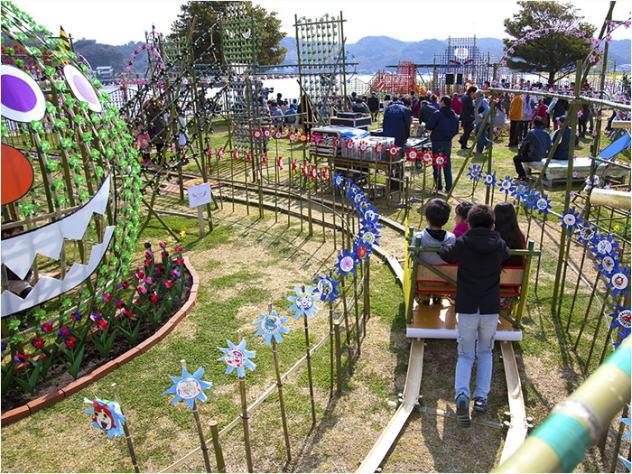 伊豆・下田特有のお祭り/風の花祭り おもちゃの国