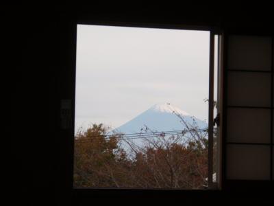 修善寺フォーレストから見た富士山